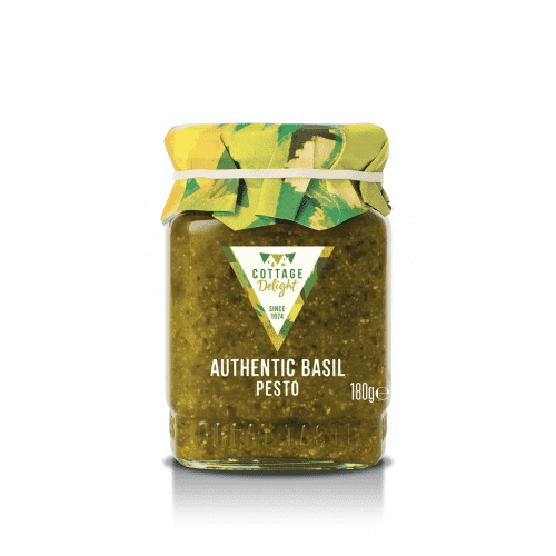 Cottage Delight grøn basilikum pesto (180gr.)